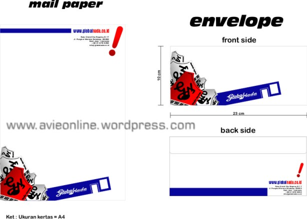 mail paper & envelope gnmc